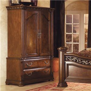 Flexsteel Wynwood Collection Granada Armoire