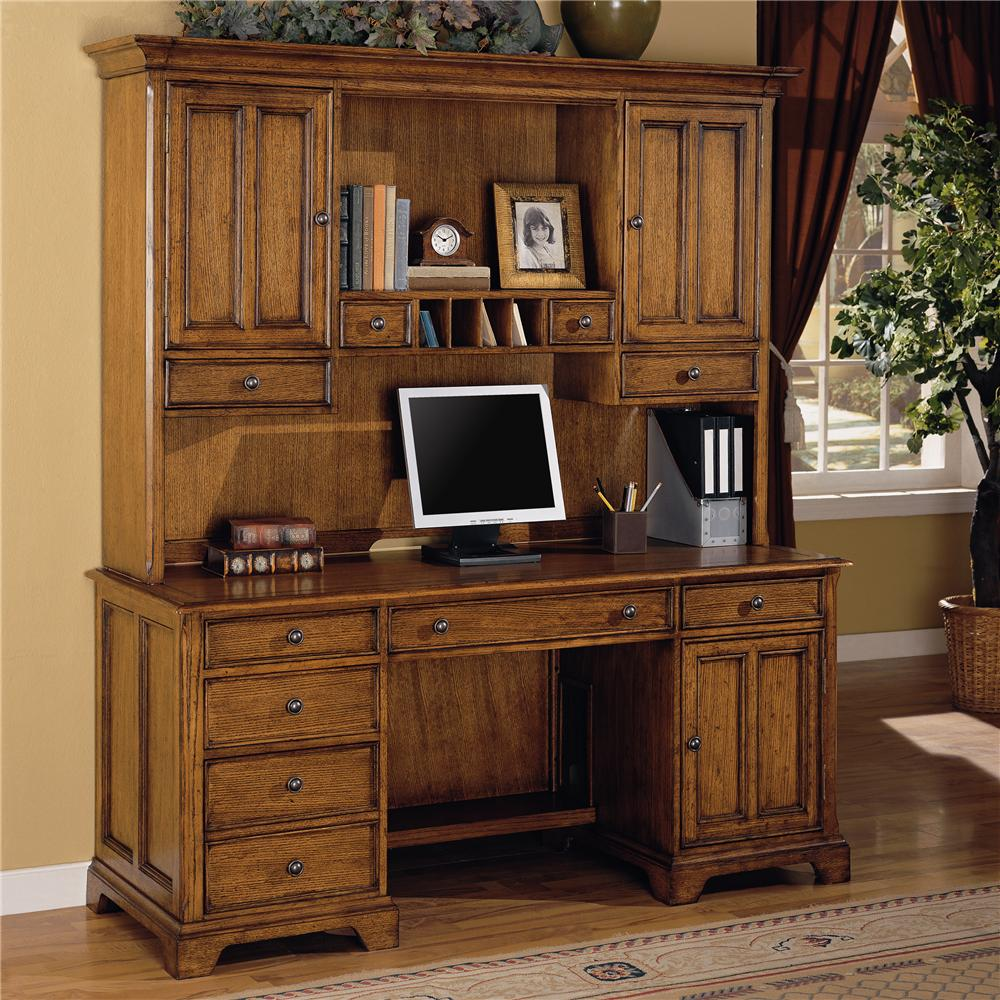 furniture credenza magnolia width office and trim with item threshold products liberty officecredenza manor hutch height