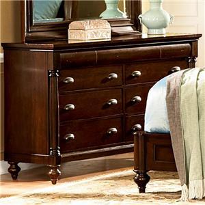 Flexsteel Wynwood Collection Harrison Dresser