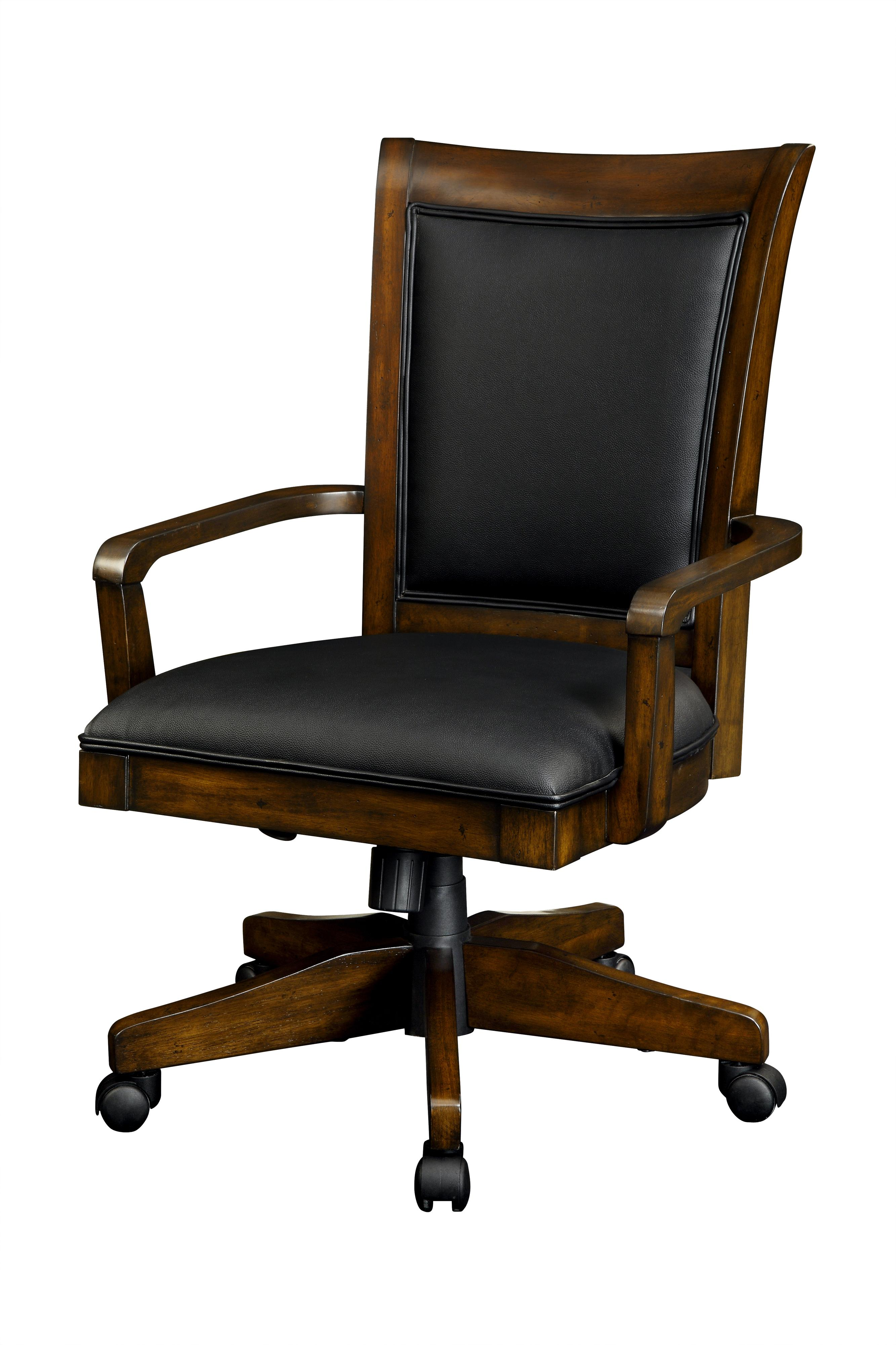 Office Chairs Soho Upholstered Swivel Tilt Office Desk Chair By Flexsteel  Wynwood Collection
