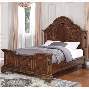 Flexsteel Wynwood Collection Talavera Queen Panel Bed