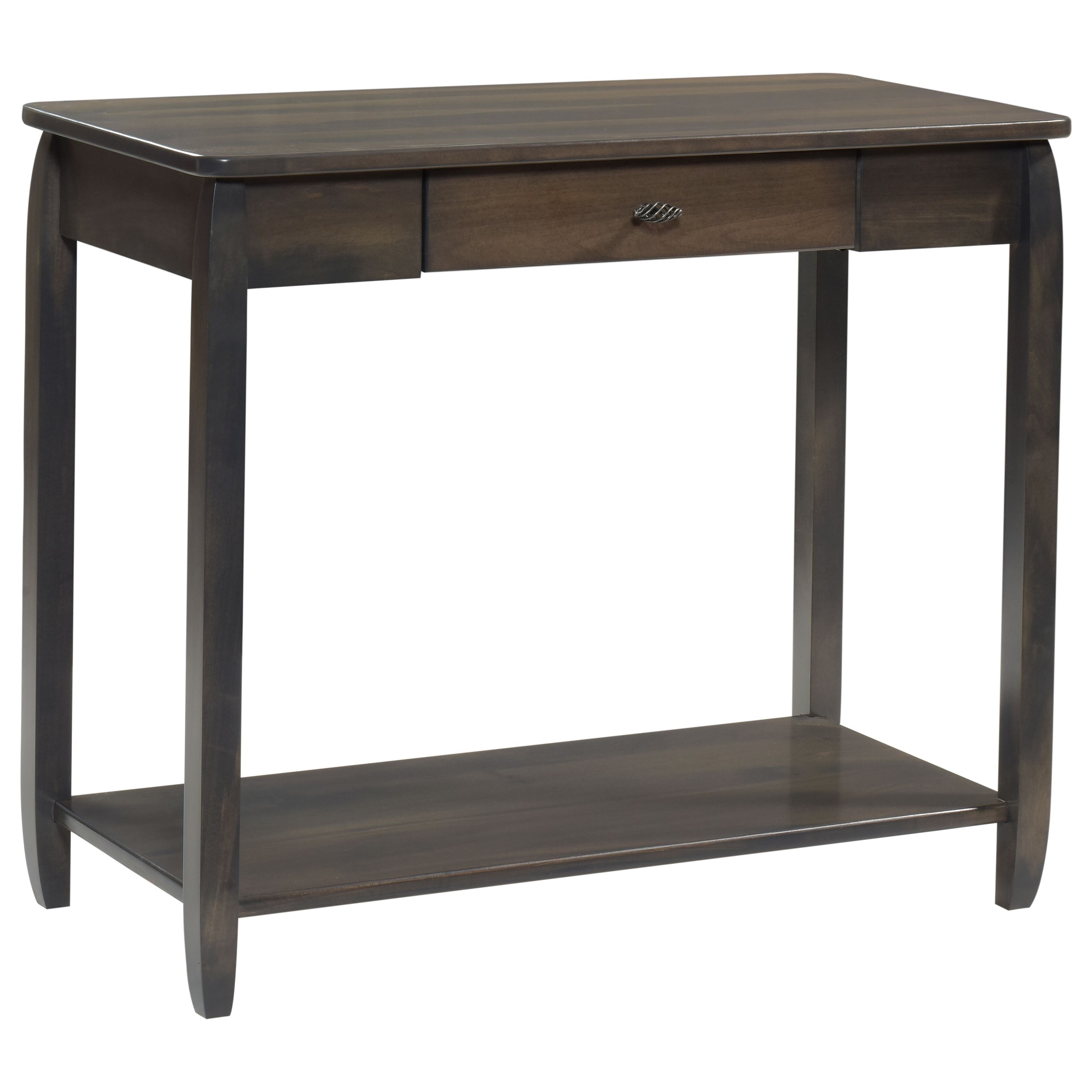 Apache Sofa Table by Y & T Woodcraft at Saugerties Furniture Mart