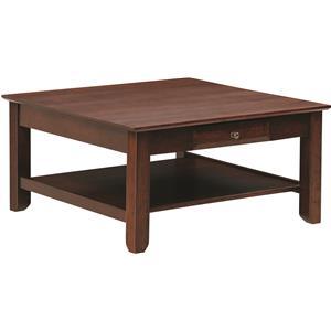 Y & T Woodcraft Arlington Square Coffee Table