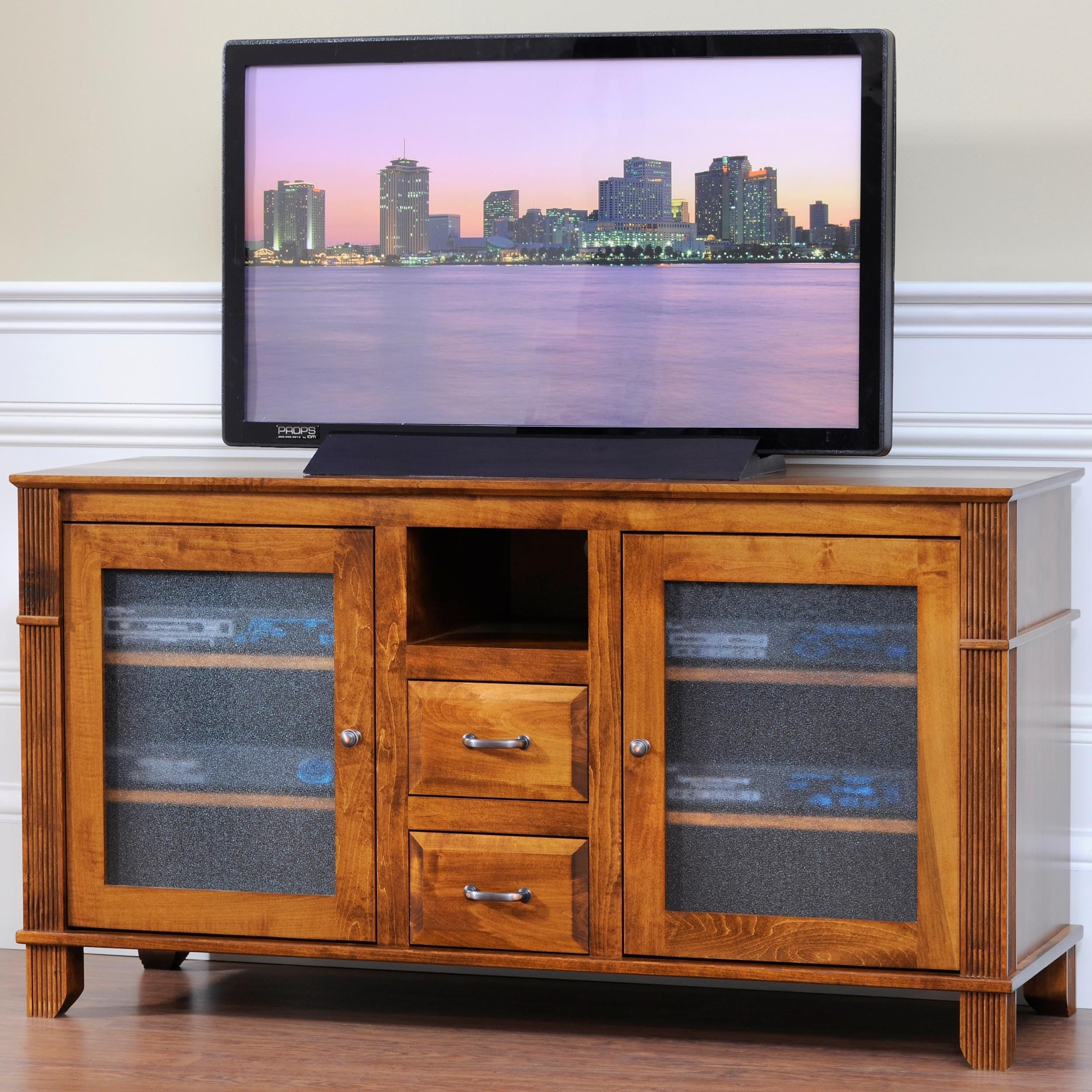 """Arlington 55"""" TV Stand by Y & T Woodcraft at Saugerties Furniture Mart"""