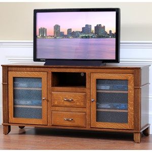 "Y & T Woodcraft Arlington 60"" TV Stand"
