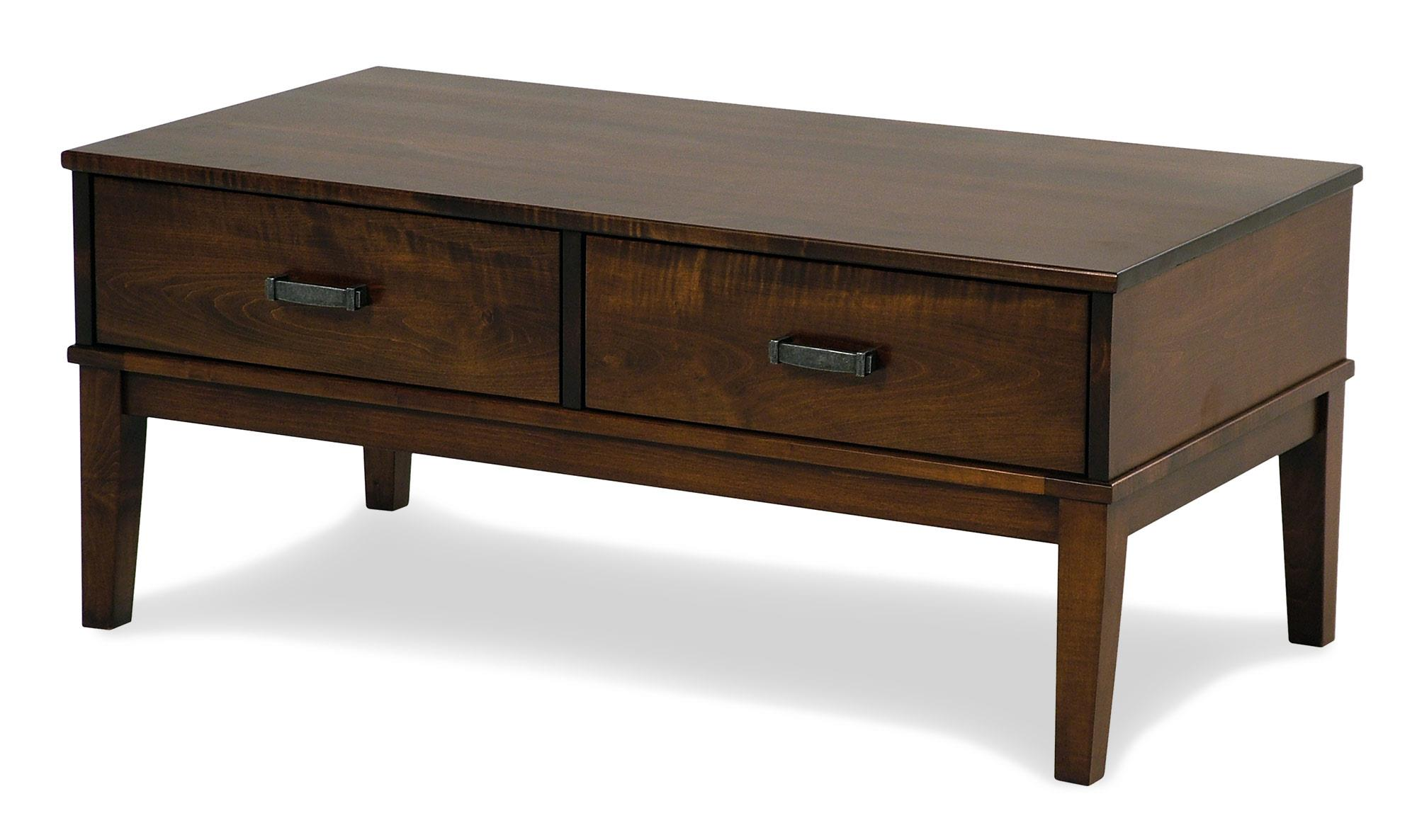 Y & T Woodcraft Asbury Amish Built Maple Cocktail Table - Item Number: 234-MAP117