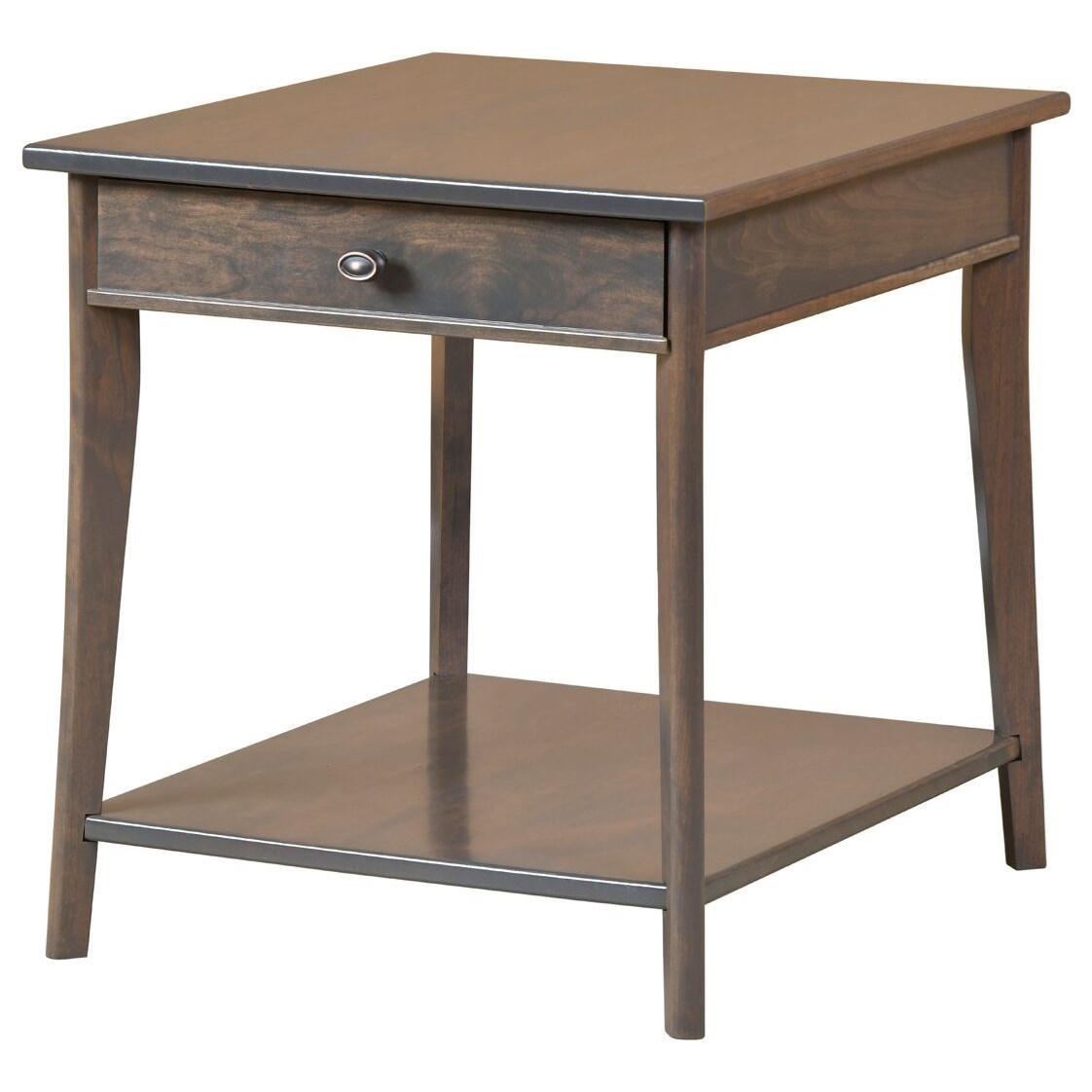 Austin End Table by Y & T Woodcraft at Saugerties Furniture Mart