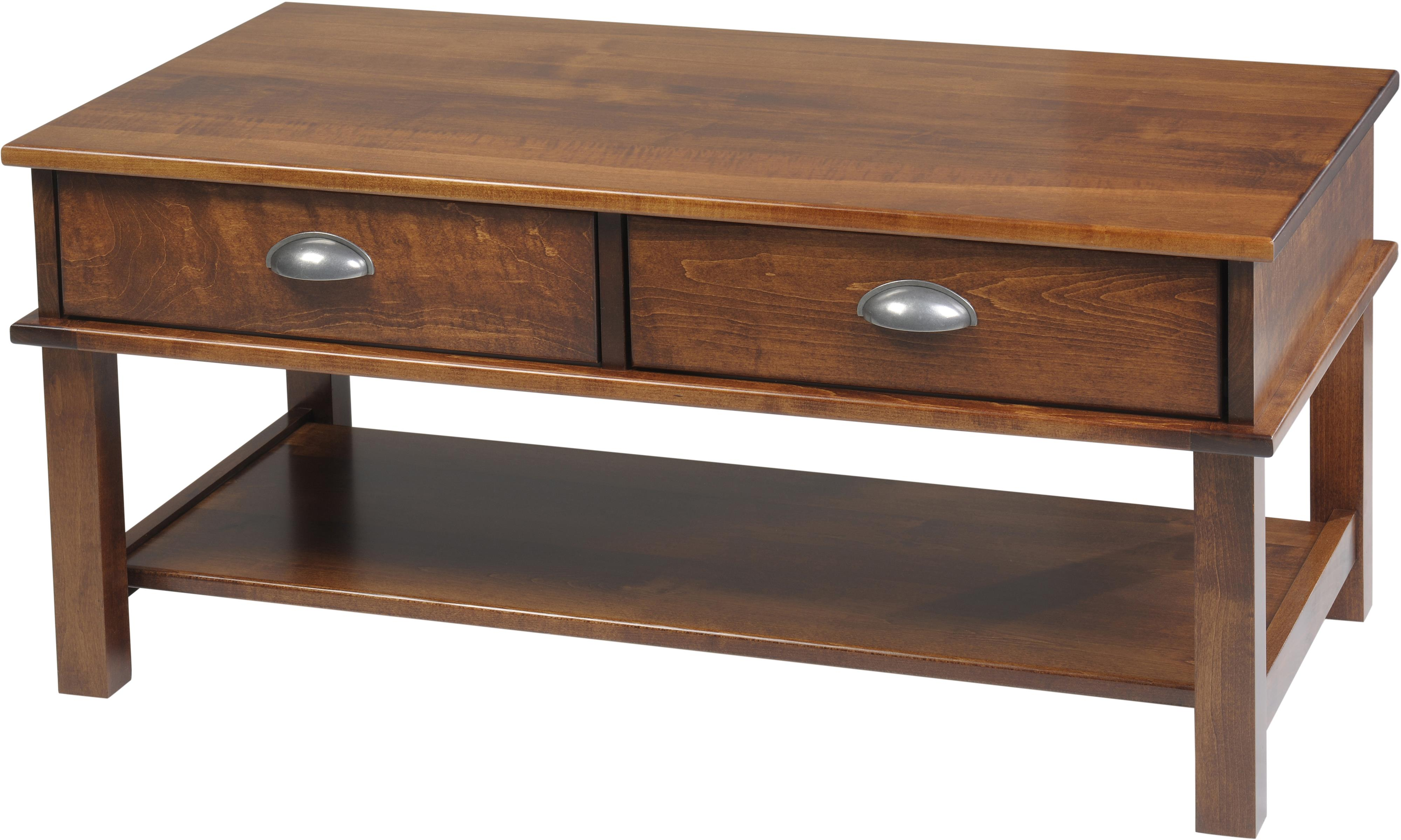 Buckhannon Coffee Table by Y & T Woodcraft at Saugerties Furniture Mart