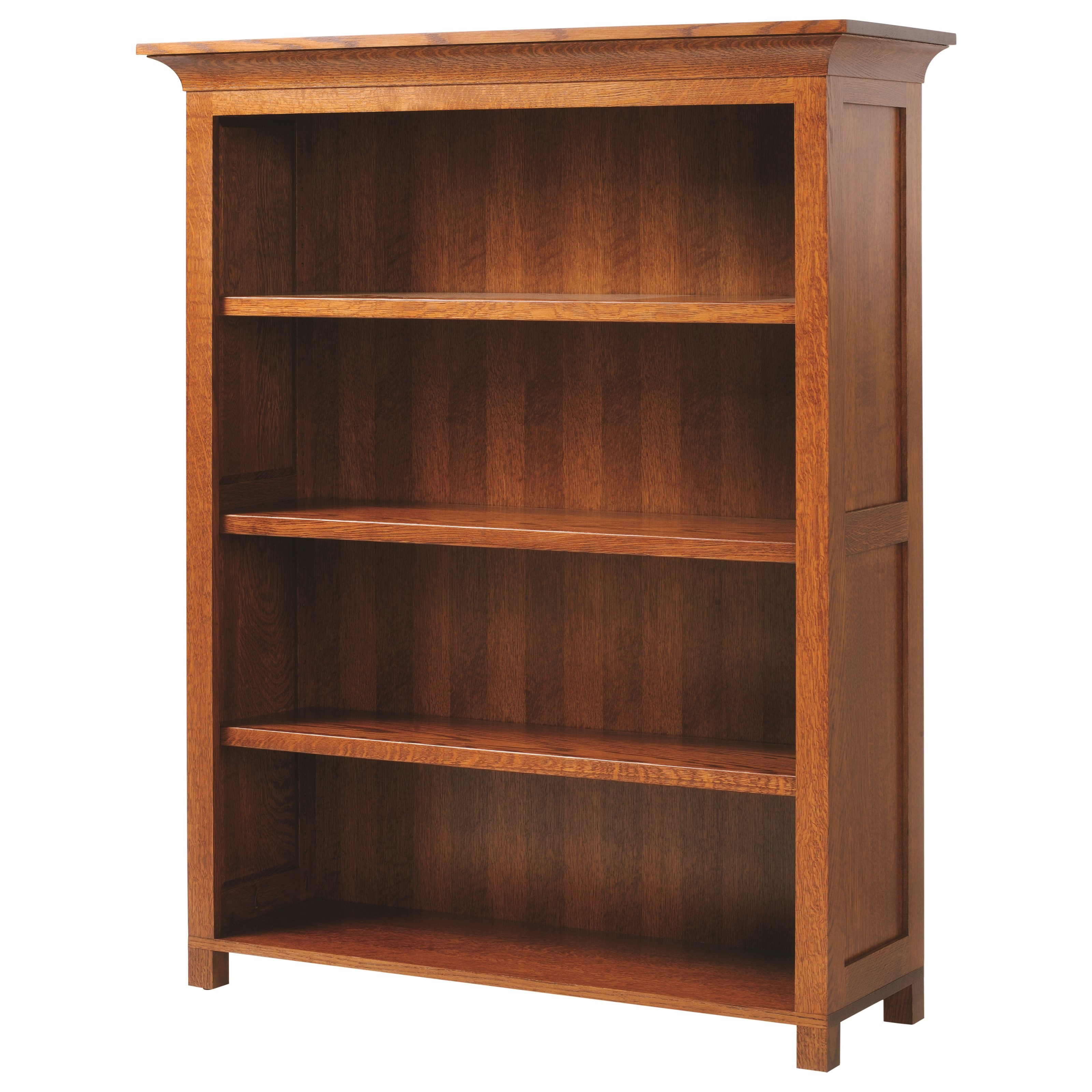 """Coventry Mission 60"""" Bookcase by Y & T Woodcraft at Saugerties Furniture Mart"""