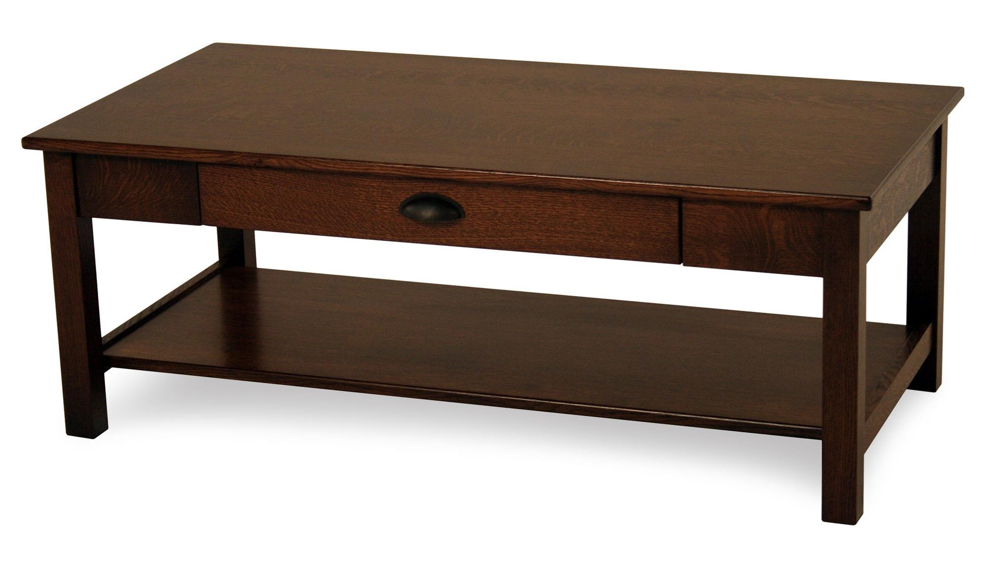 Express Rectangular Solid Wood Cocktail Table Rotmans Cocktail