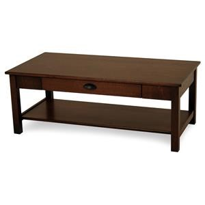 Y & T Woodcraft Express Rectangular Cocktail Table
