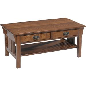 Y & T Woodcraft Lexington Mission Coffee Table