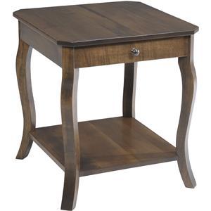 Y & T Woodcraft Sundance End Table
