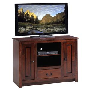 "Y & T Woodcraft TV Stands Amish Solid Wood 45"" TV Console"