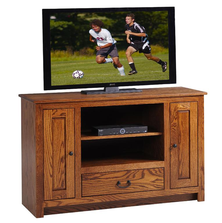 "Amish Solid Wood 52"" TV Console"