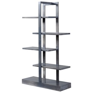 Y & T Woodcraft Urban Office Contemporary Open Bookcase