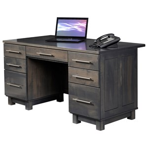 Y & T Woodcraft Urban Office Executive Desk