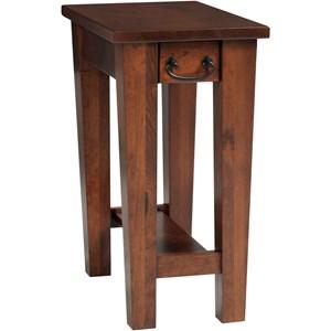Y & T Woodcraft Urban Shaker Chairside Table