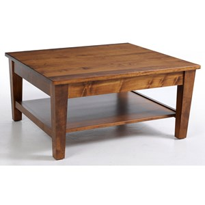 Y & T Woodcraft Urban Shaker Square Coffee Table