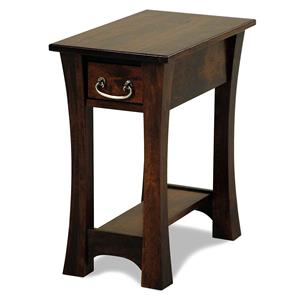 Y & T Woodcraft Woodbury Amish Built Cherry Chairside Table