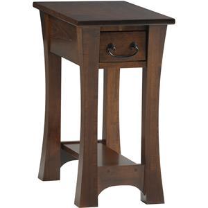 Y & T Woodcraft Woodbury Chairside Table
