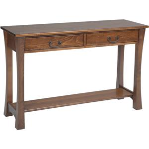 Y & T Woodcraft Woodbury Hall Table