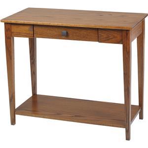 Y & T Woodcraft Woodland Shaker Sofa Table with Shelf