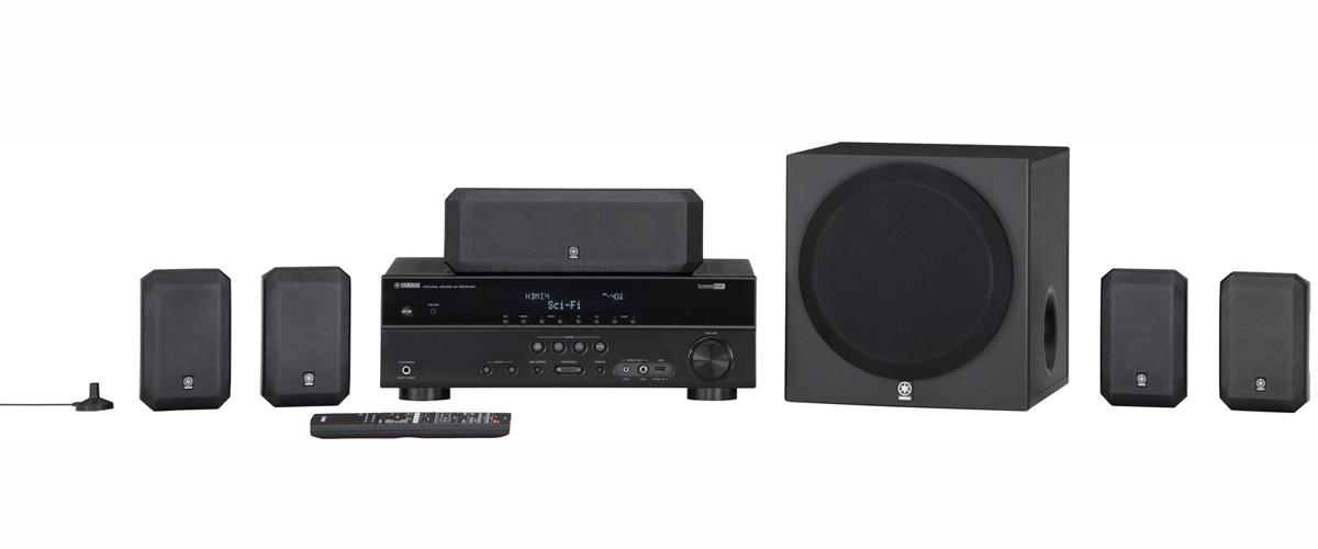 Yamaha Home Theater in a Box Systems 5.1 Channel Home Theater in a Box System - Item Number: YHT-397BL
