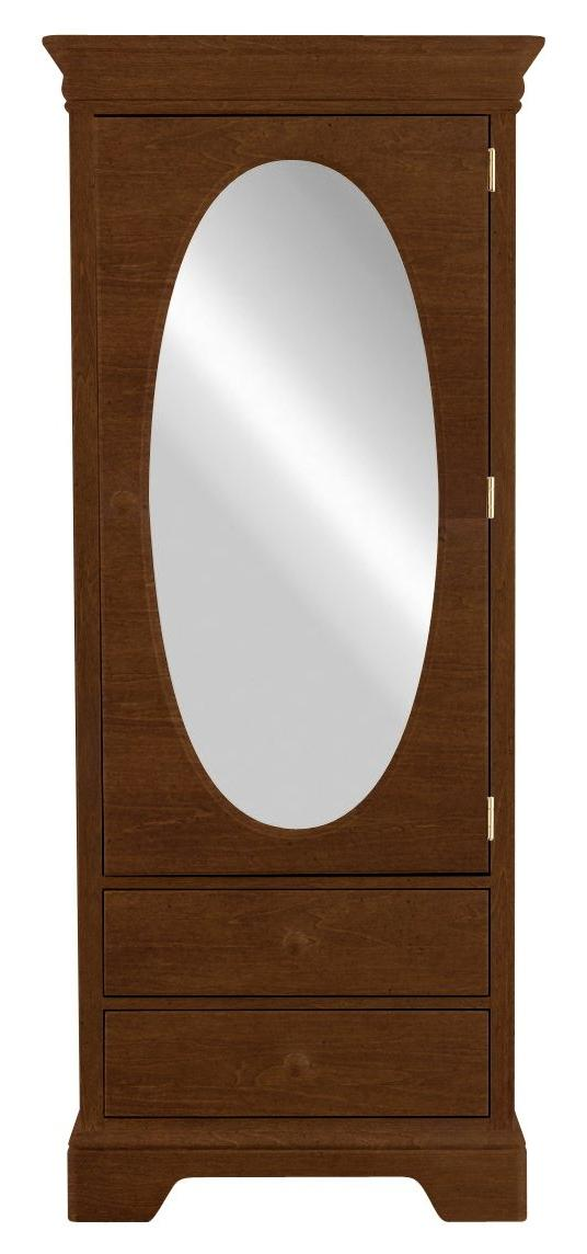 All Seasons Wardrobe With One Mirrored Door By Young America