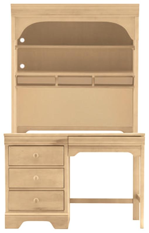 All Seasons Student Desk Hutch By Young America