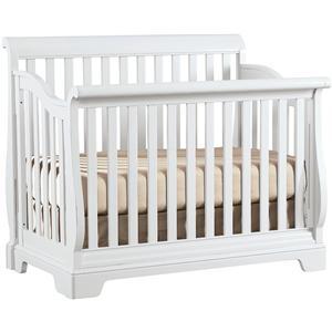 Young America All Seasons Built to Grow Sleigh Crib