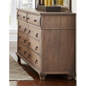 Solid Maple Dresser