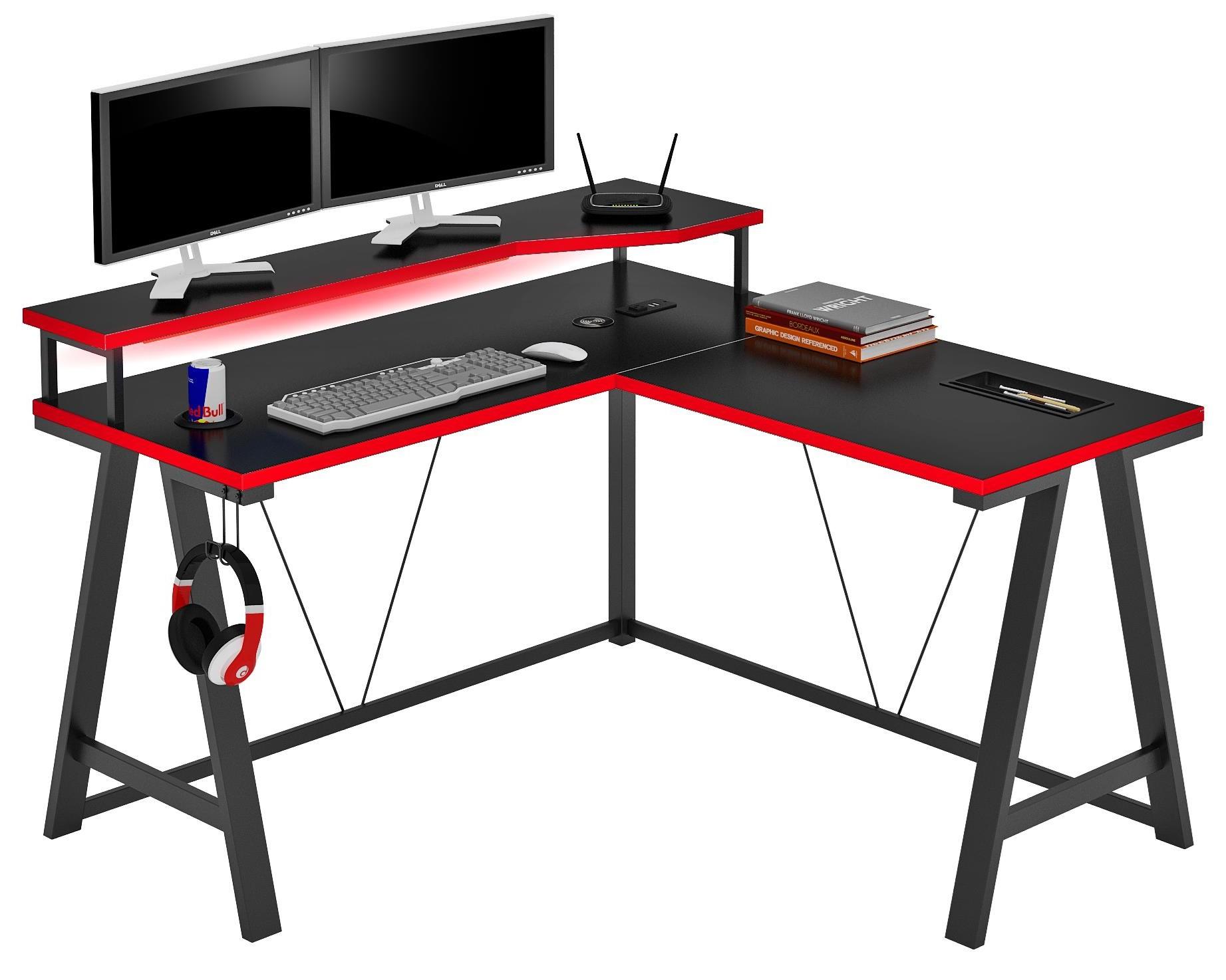 Single Hutch Gamer Desk