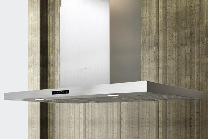 "Arc Collection 36"" Island Range Hood by Zephyr at Furniture and ApplianceMart"