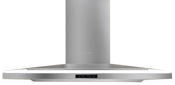 "Arc Collection 42"" Wall-Mounted Range Hood by Zephyr at Furniture and ApplianceMart"