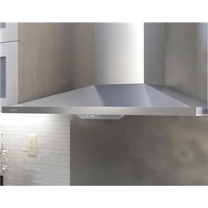 Zephyr Essentials Collection Chimney Wall And Downdraft 36 Mount Range Hood