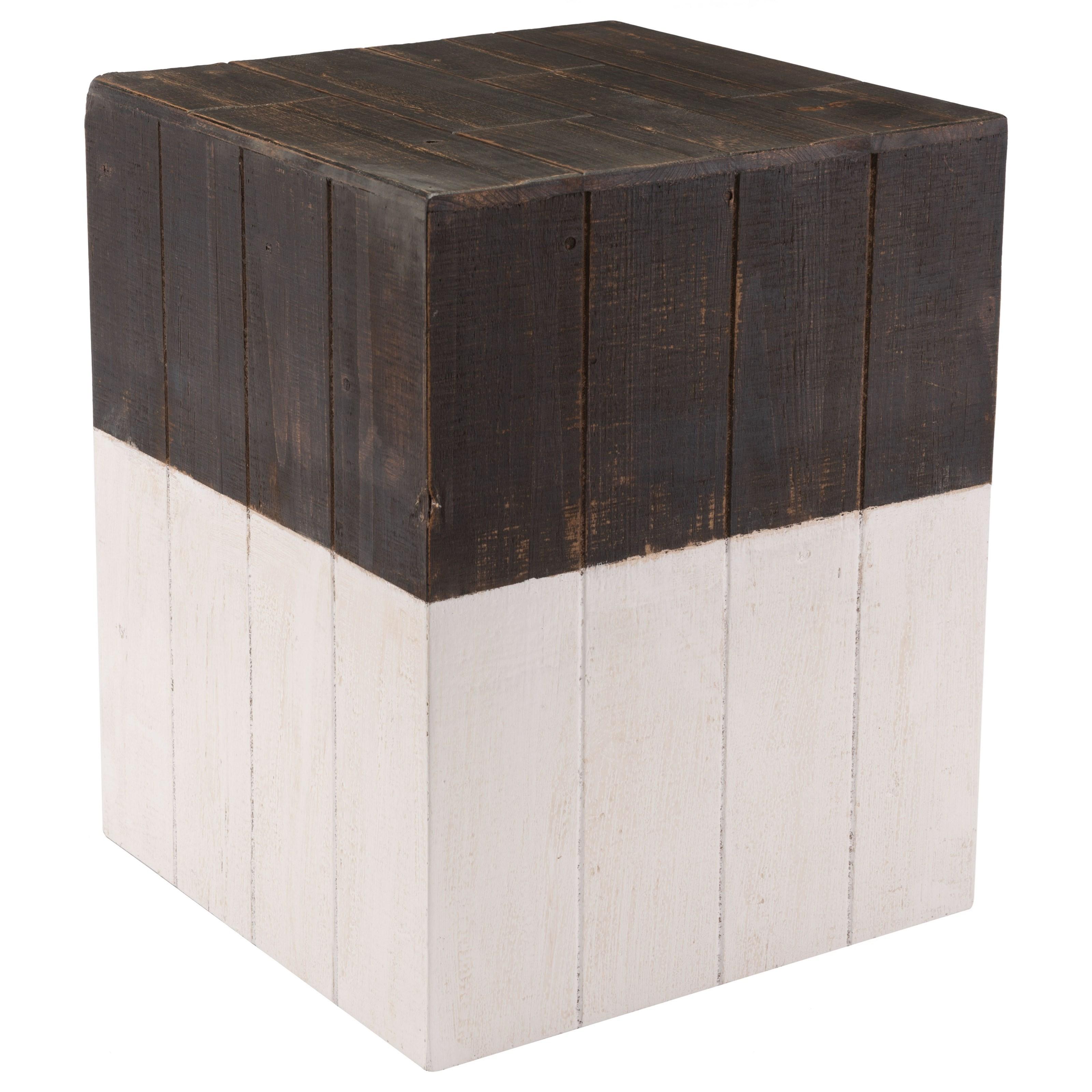 Wooden Square Garden Seat