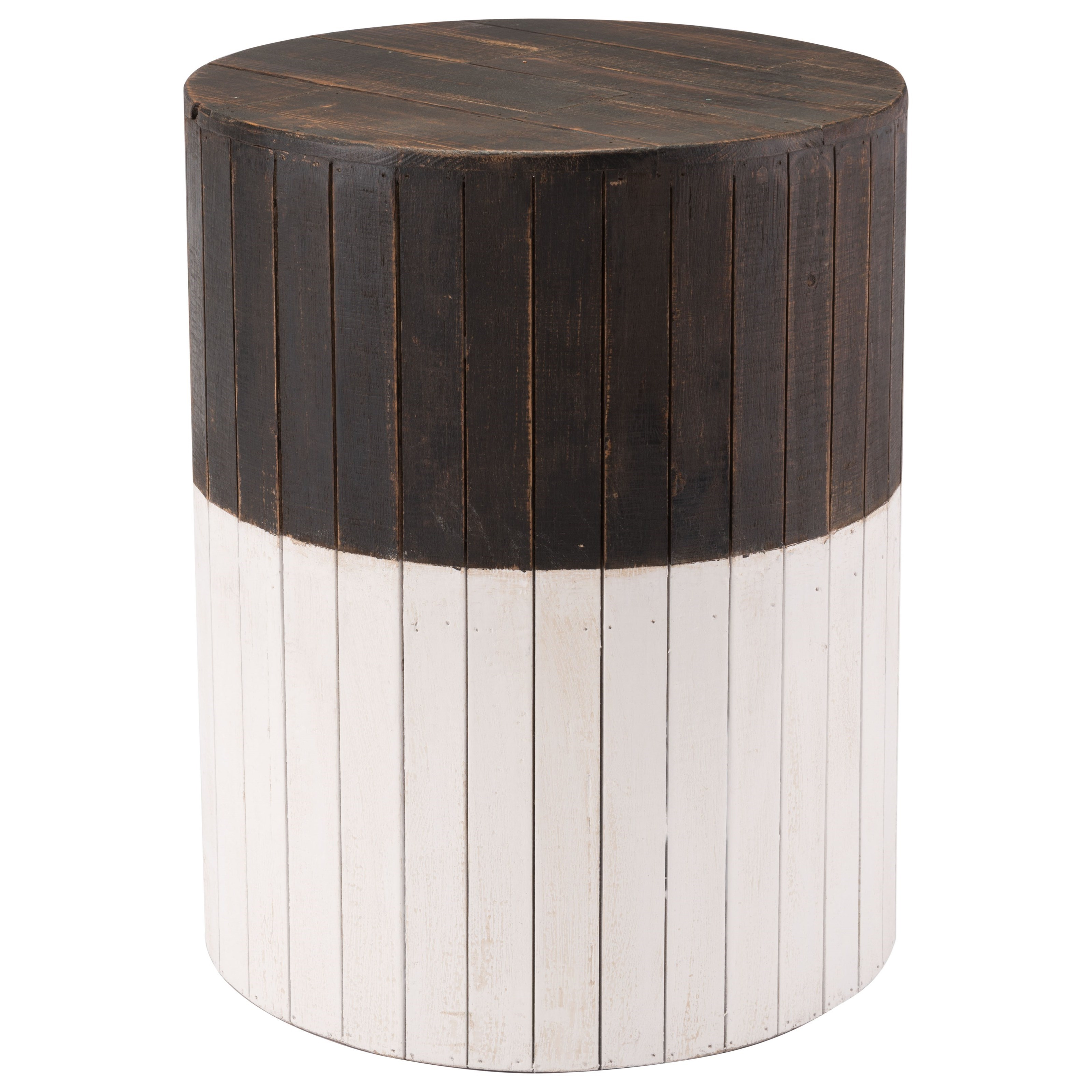 Zuo Accent Tables Wooden Round Garden Seat - Item Number: A10605