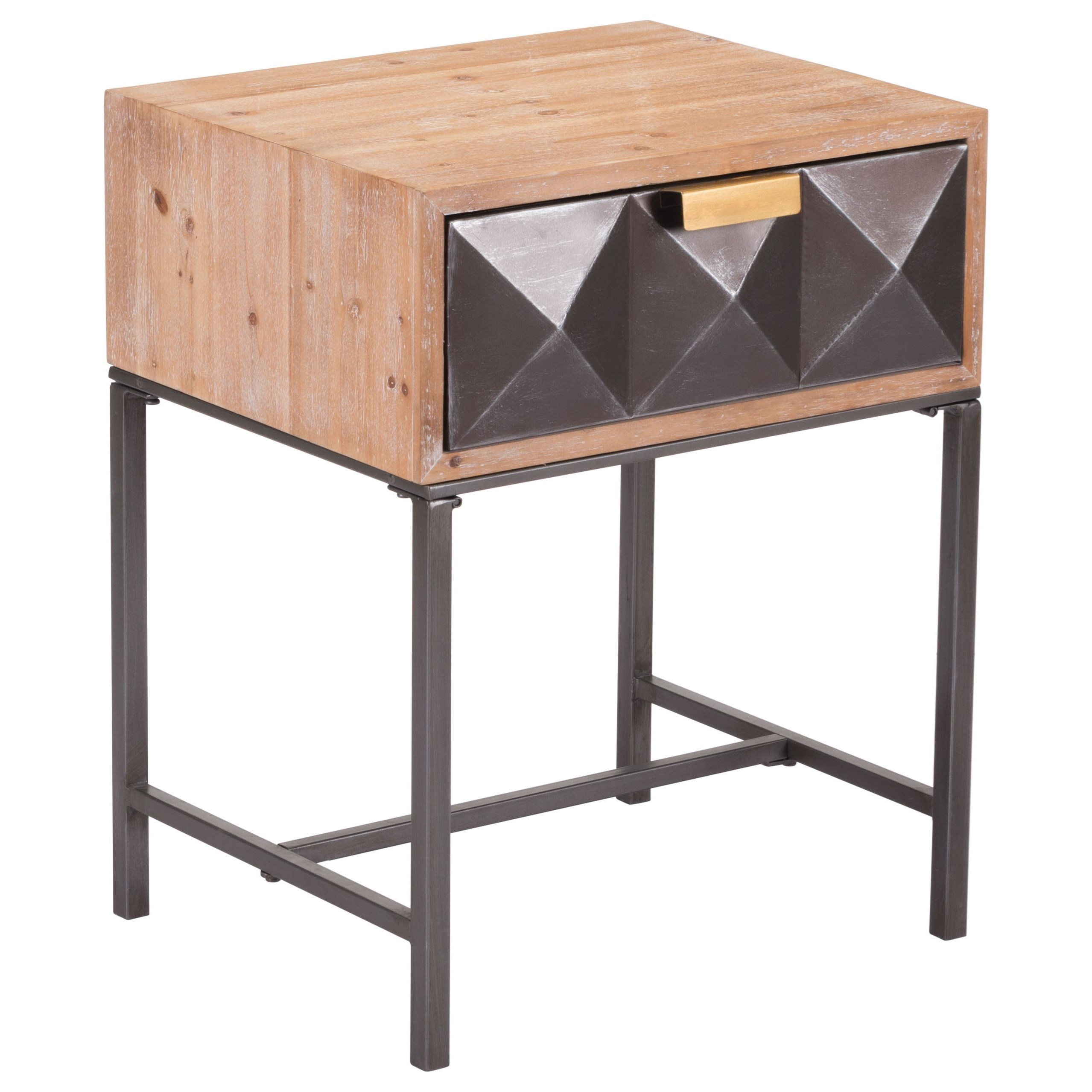 Zuo Accent Tables Black End Table - Item Number: A10691