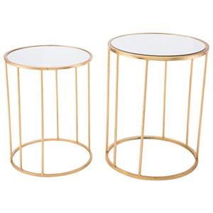 Finita Set 2 Nesting Round Tables