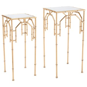Bamboo Set of 2 Tables