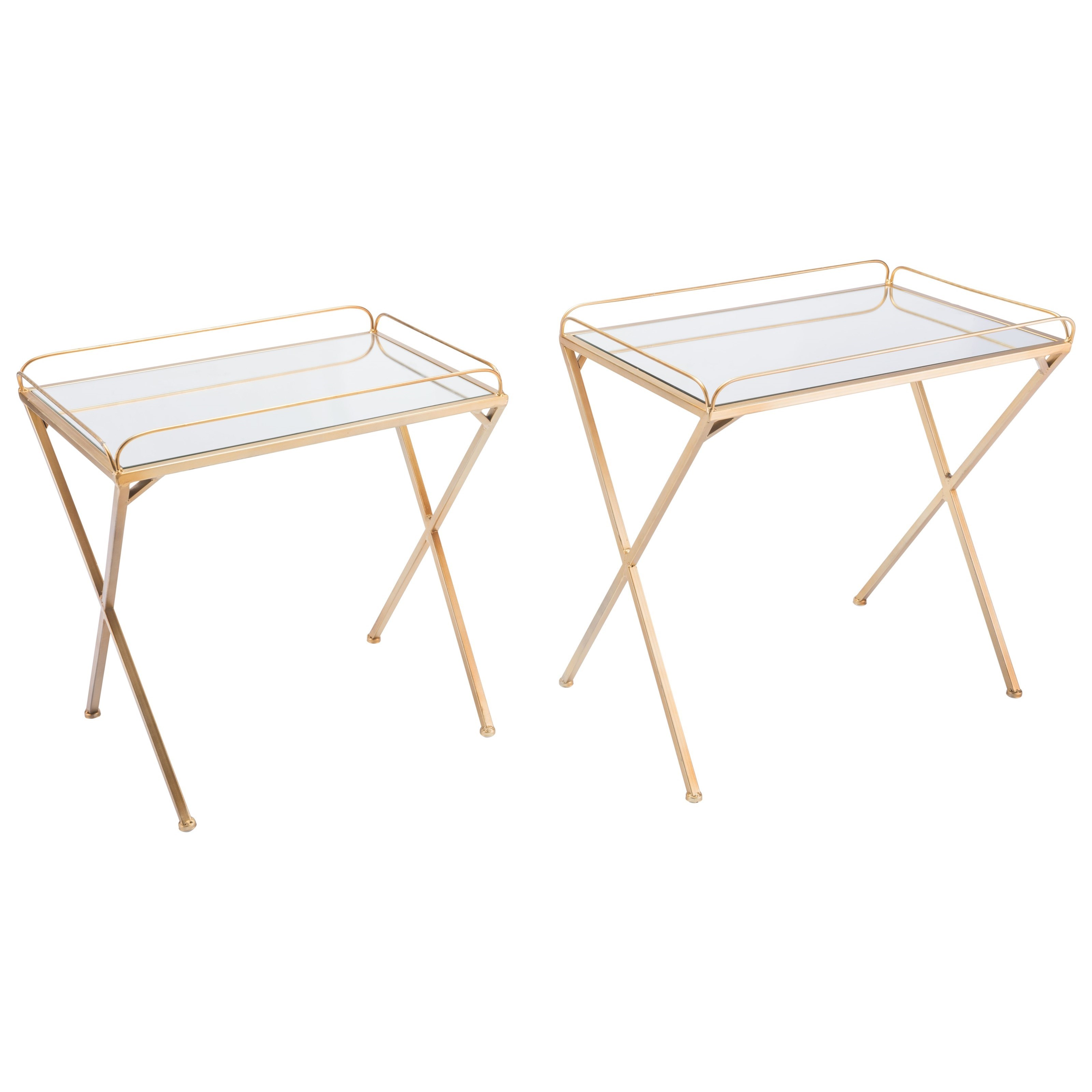 Zuo Accent Tables Opposite Set of 2 Tables - Item Number: A10773