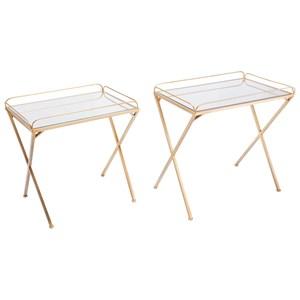 Opposite Set of 2 Tables