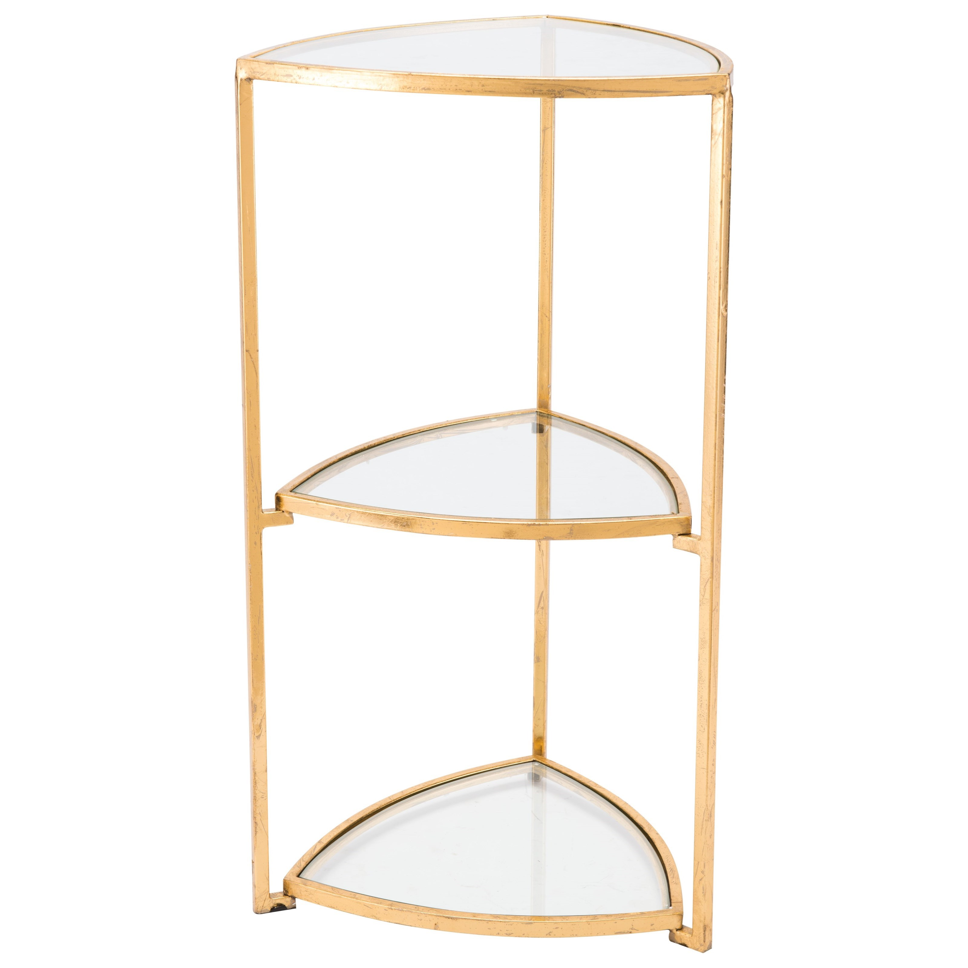 Accent Tables Corner Tri Level Table by Zuo at Nassau Furniture and Mattress