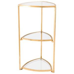 Corner Tri Level Table