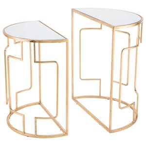 Roma Set of 2 Side Tables