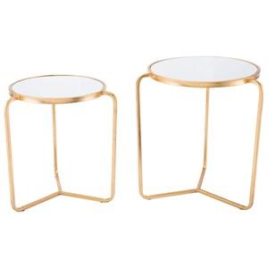 Set of 2 Tripod Tables