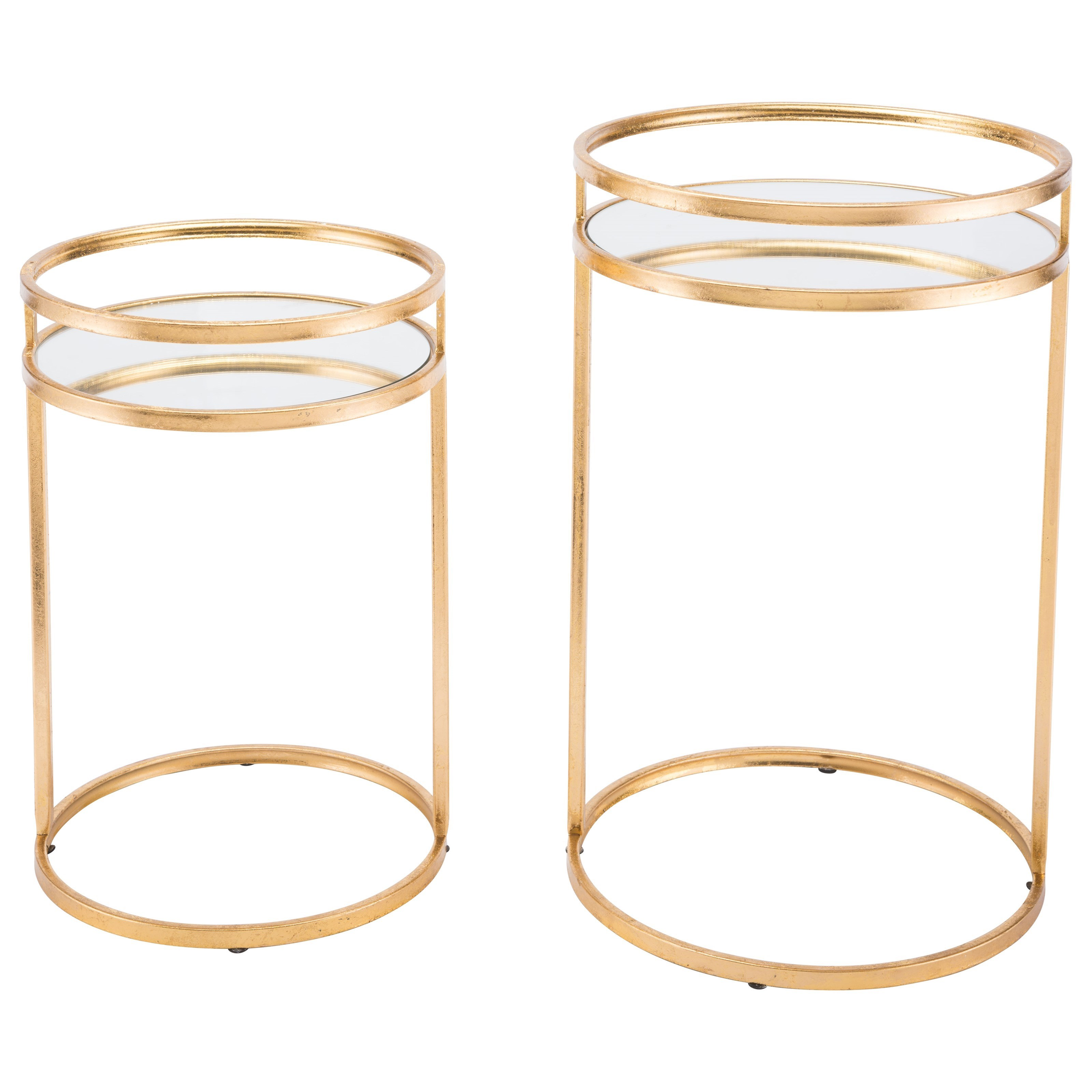 Zuo Accent Tables Set of 2 Nesting Tables - Item Number: A10783