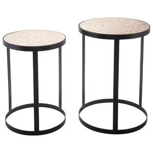 Antique Set of 2 Tables
