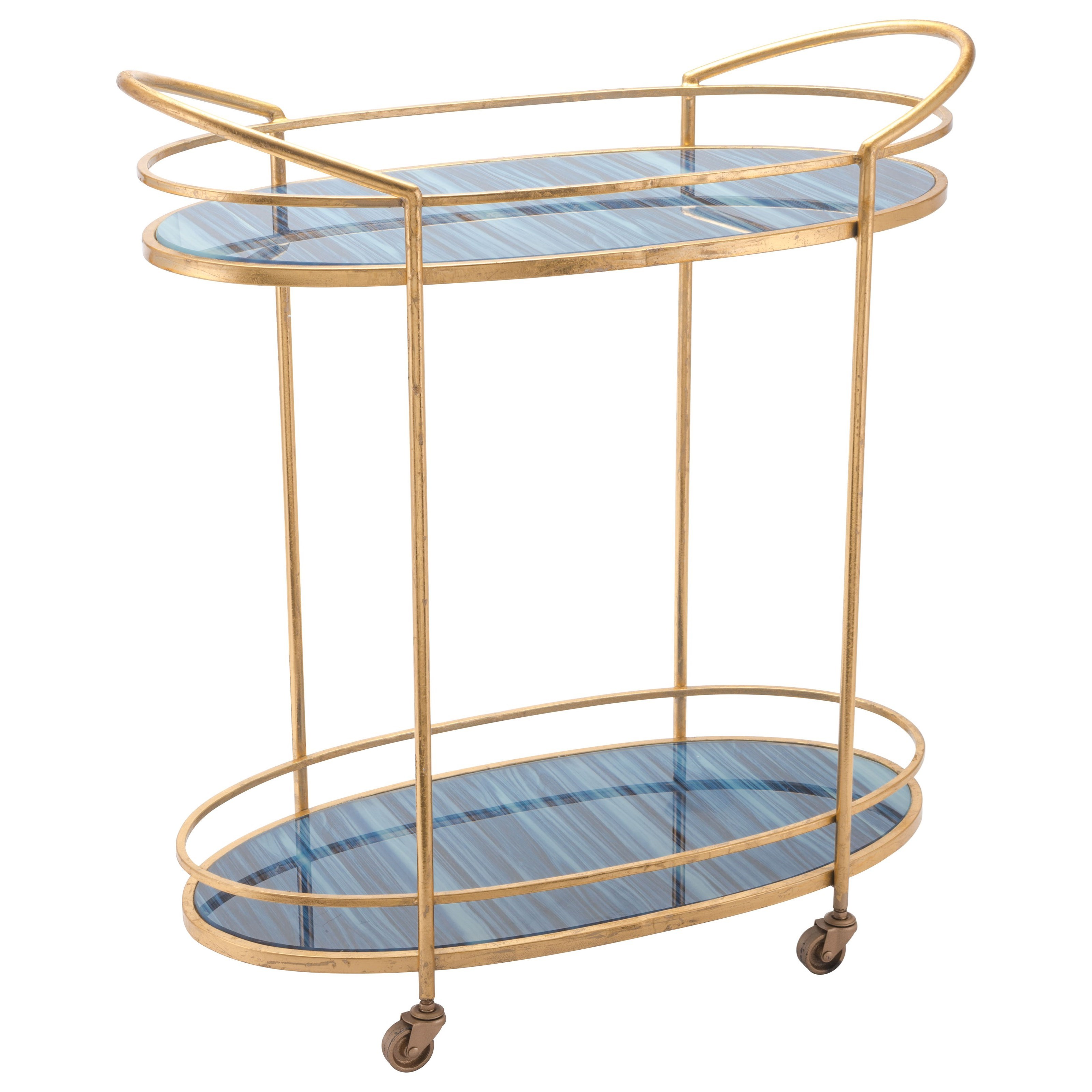 Zuo Accent Tables Zaphire Bar Cart - Item Number: A10807